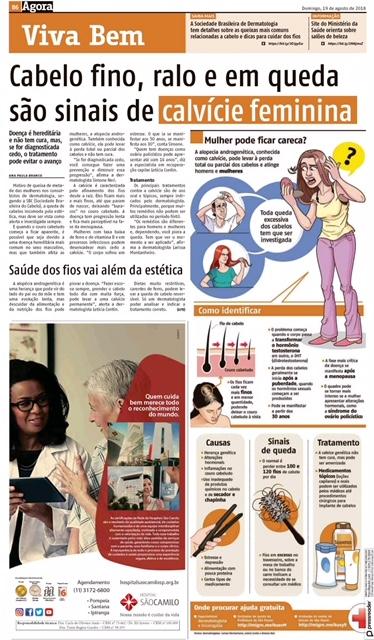 Clínica Dermavive   Calvície Feminina